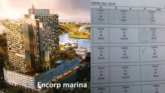 Encorp Marina Pricing