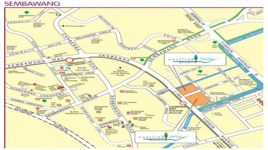 Canberra Development site plan