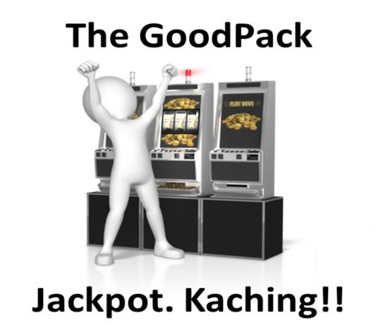 Goodpack jackpot