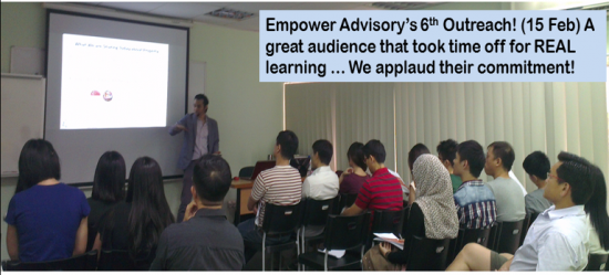 Empower Advisory's 6th Outreach Small