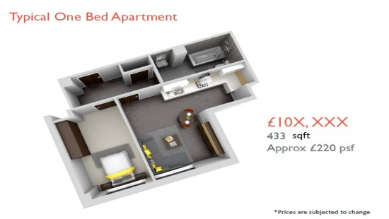 1 bed room 13