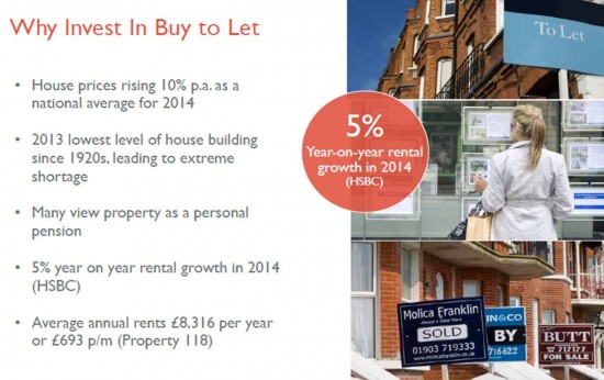 Why invest in Buy and Let