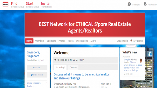 Meetup for ethical realtors